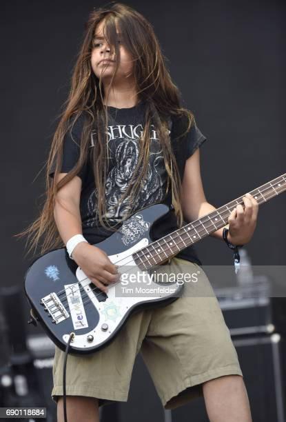 Tye Trujillo of The Helmets performs during BottleRock Napa Valley on May 28 2017 in Napa California