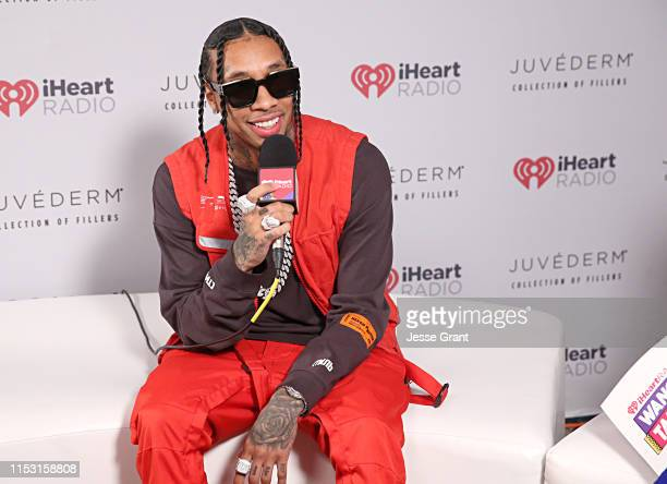 Tyga attends 2019 iHeartRadio Wango Tango presented by The JUVÉDERM® Collection of Dermal Fillers at Dignity Health Sports Park on June 01 2019 in...