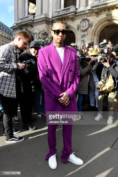 Tyga attends the Berluti Menswear Fall/Winter 2020-2021 show as part of Paris Fashion Week at Opera Garnier on January 17, 2020 in Paris, France.