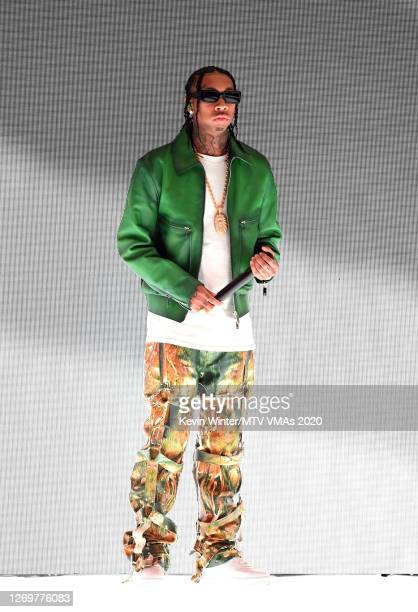 Tyga performs at the 2020 MTV Video Music Awards broadcast on Sunday August 30 2020 in New York City