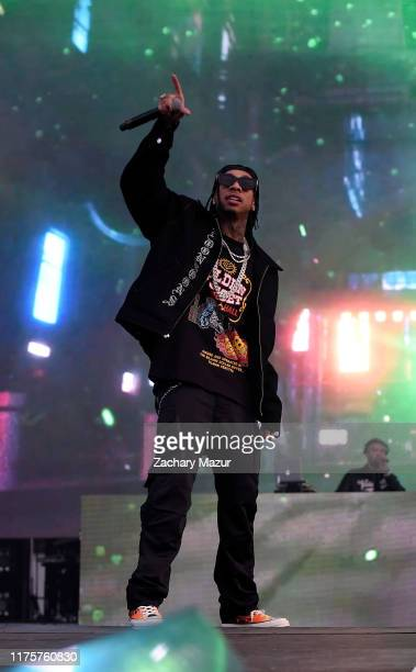 Tyga performs onstage during Day 2 of the 2019 Rolling Loud Festival at Citi Field on OCtober 13 2019 in New York City