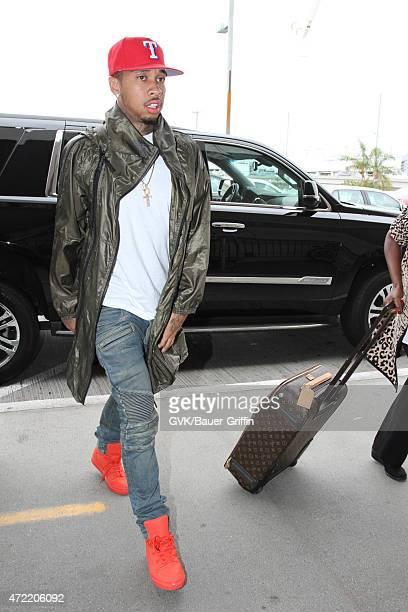 Tyga seen at LAX on May 04 2015 in Los Angeles California