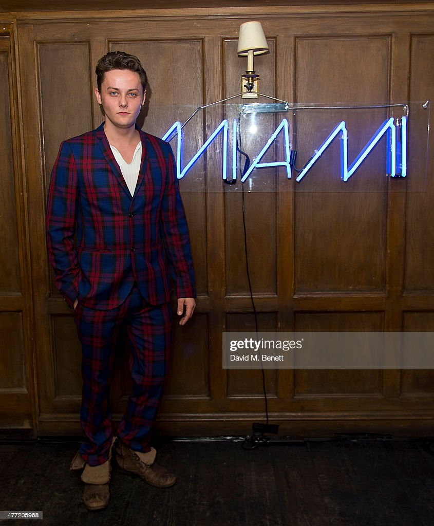 Tyger Drew Honey attends the Miami in London Party at Soho House on June 14, 2015 in London, England.