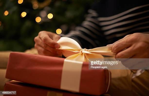 Nouez le nœud à Noël