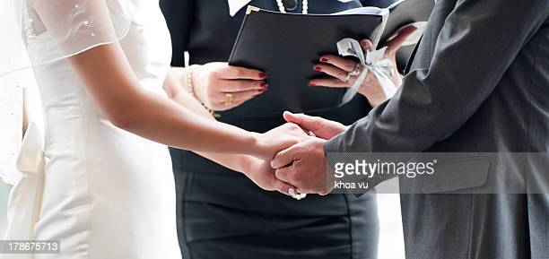 tying the knot - wedding vows stock pictures, royalty-free photos & images