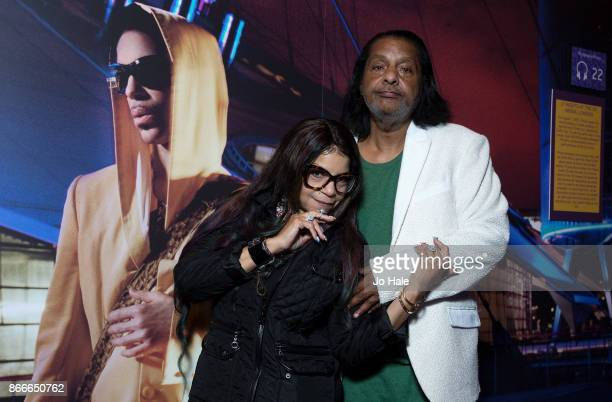 Tyka Nelson Prince's sister and Alfred Jackson Prince's half brother attend the private view of the My Name is Prince exhibition at The O2 Arena on...