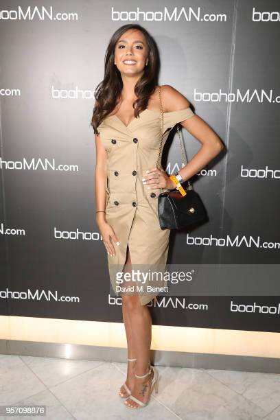 Tyla Carr attends boohooMAN by Dele Alli Launch at Radio Rooftop on May 10 2018 in London England