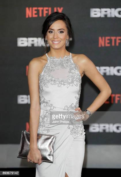 Tyla Carr attends the European Premeire of 'Bright' held at BFI Southbank on December 15 2017 in London England