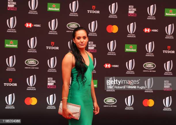 Tyla Nathan Wong of New Zealand Women Sevens poses for a photo during the World Rugby Awards on November 03 2019 in Tokyo Japan