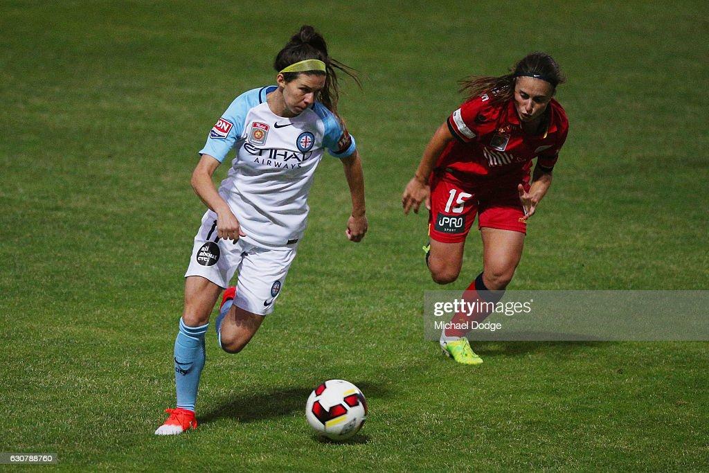 W-League Rd 10 - Melbourne City v Adelaide : News Photo