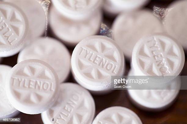 Tylenol tablets which contain acetaminophen are shown on April 14 2015 in Chicago Illinois New research has shown that acetaminophen which is found...
