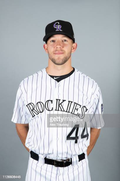 Tyler Anderson of the Colorado Rockies poses during Photo Day on Wednesday February 20 2019 at Salt River Fields at Talking Stick in Scottsdale...
