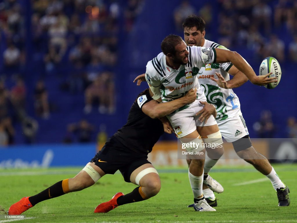 Super Rugby Rd 7 - Jaguares v Chiefs : News Photo