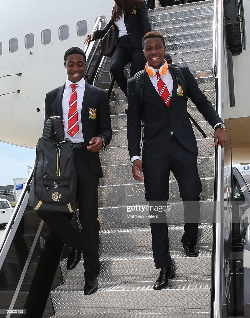 Manchester United FC Arrive in Washington - Pre-Season Tour of The USA : ニュース写真