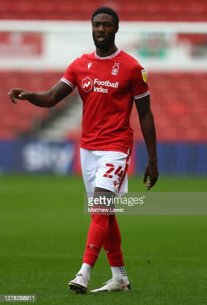 Tyler Blackett of Nottingham Forest in action during the Sky Bet Championship match between Nottingham Forest and Wycombe Wanderers at City Ground on...