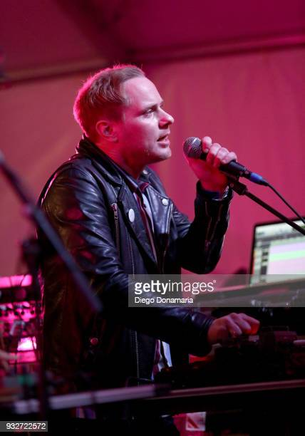 Tyler Blake of Classixx performs onstage at Twix Event during SXSW at Lustre Pearl on March 15 2018 in Austin Texas