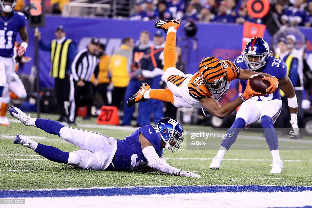 Cincinnati Bengals v New York Giants : News Photo