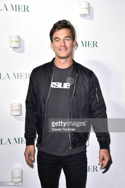 Tyler Cameron attends La Mer by Sorrenti Campaign at Studio 525 on October 03 2019 in New York City