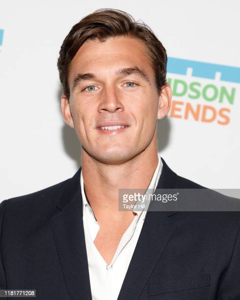 Tyler Cameron attends the 2019 Hudson River Park Gala at Cipriani South Street on October 17 2019 in New York City