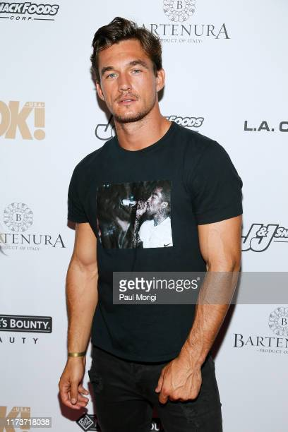 Tyler Cameron attends the OK Magazine NYFW Party at PhD Dream Downtown Hotel Rooftop on September 10 2019 in New York City