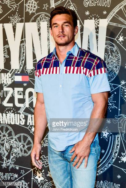 Tyler Cameron attends the Tommy x Zendaya Runway Show at The Apollo Theater on September 08 2019 in New York City