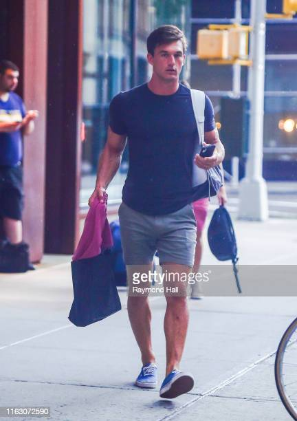 Tyler Cameron is seen on August 21 2019 in New York City