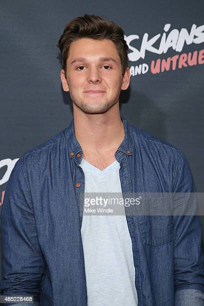 Tyler Case attends the premiere of Awesomeness TV's Janoskians Untold and Untrue at Regency Bruin Theatre on August 25 2015 in Los Angeles California