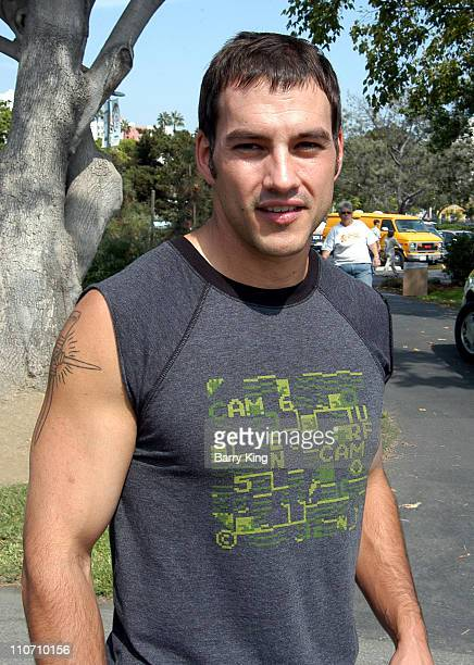 Tyler Christopher at the 'Best Friends' Super Pet Adoption Festival at La Brea Tar Pits in Los Angeles California on October 5 2003