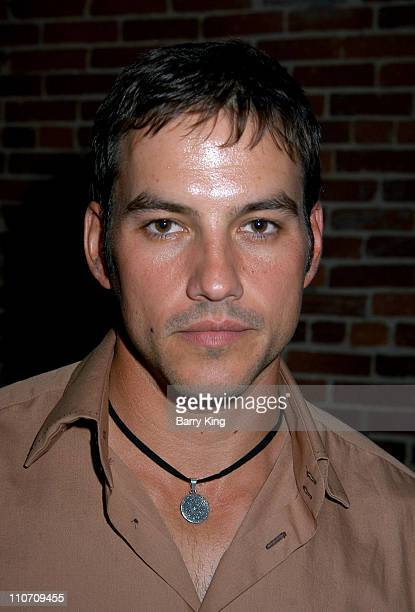 Tyler Christopher during An Evening With The Stars Benefit For The Desi Geestman Foundation at The Ivar in Hollywood California United States