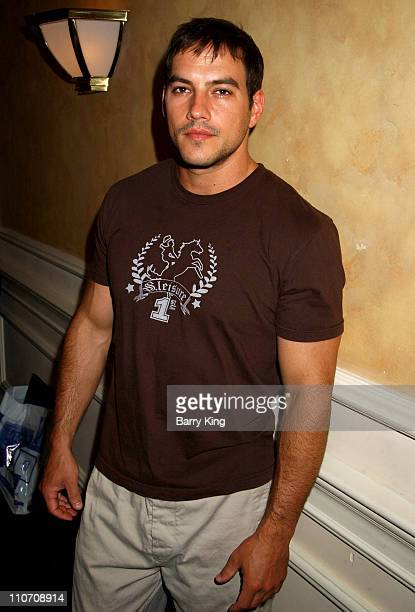 Tyler Christopher during General Hospital Fan Luncheon 2004 at Sportsmans Lodge in Sherman Oaks California United States