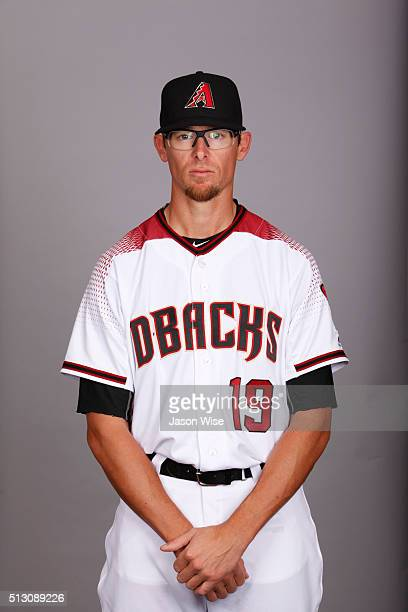 Tyler Clippard of the Arizona Diamondbacks poses during Photo Day on Sunday February 28 2016 at Salt River Fields at Talking Stick in Scottsdale...