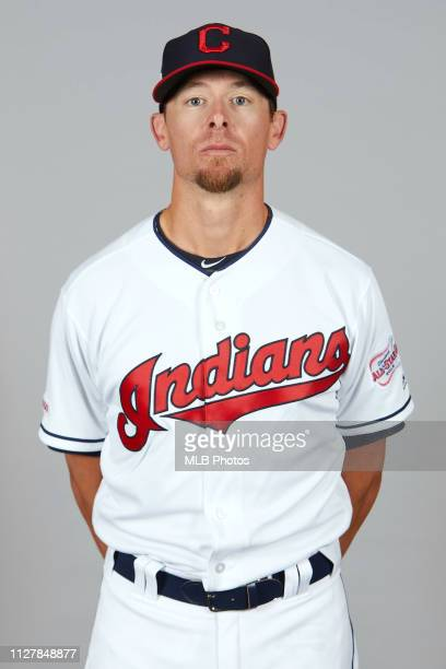 Tyler Clippard of the Cleveland Indians poses during Photo Day on Wednesday February 27 2019 at Goodyear Ballpark in Goodyear Arizona