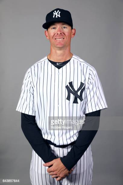 Tyler Clippard of the New York Yankees poses during Photo Day on Tuesday February 21 2017 at George M Steinbrenner Field in Tampa Florida