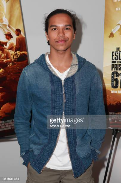 Tyler Dean Flores attends the World Premiere of 'The Escape of Prisoner 614' at Village East Cinema on April 25 2018 in New York City