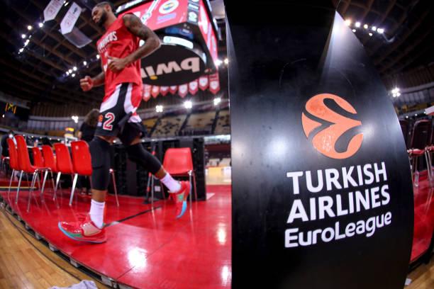 GRC: Olympiacos Piraeus v Fenerbahce Beko Istanbul - Turkish Airlines EuroLeague