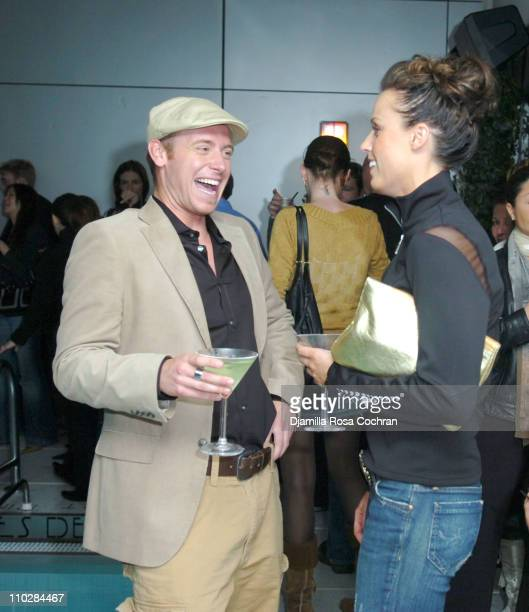 Tyler Duckworth and Amanda Beard during W Magazine Celebrates the Launch of the 2006 Speedo Ad Campaign at Gansevoort Hotel in New York, New York.