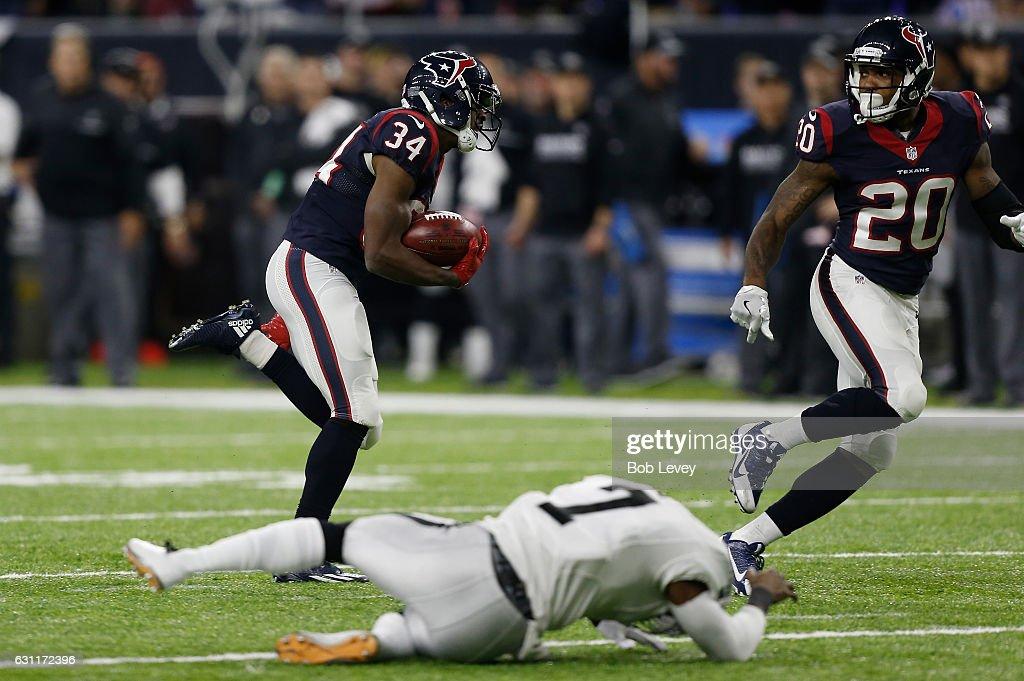 Wild Card Round - Oakland Raiders v Houston Texans