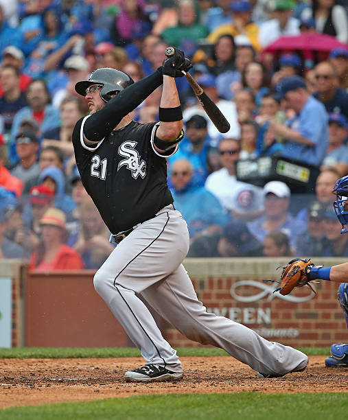 Chicago white sox v chicago cubs photos and images getty images tyler flowers 21 of the chicago white sox hits a two run double in mightylinksfo Choice Image