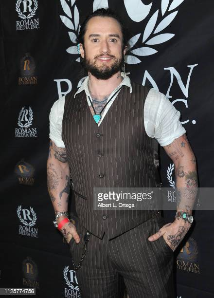 Tyler Gallant arrives for Roman Media's 5th Annual Hollywood Event A Celebration of Women and Diversity in Film held at St Felix on February 18 2019...