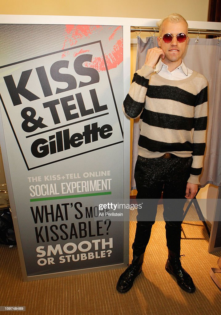"Gillette Asks Couples At Sundance To ""Kiss & Tell"" If They Prefer Stubble Or Smooth Shaven - Day 2 - 2013 Park City"