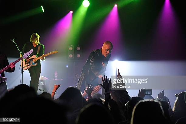 Tyler Glenn Of Neon Trees Performs As Part Of Hiltonplay Concert Series At Washington