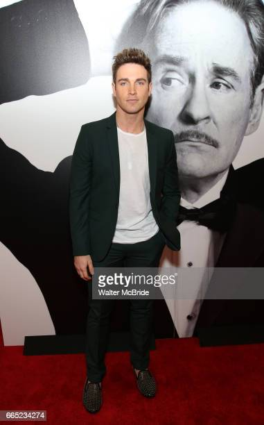 Tyler Hanes attends the Broadway Opening Night Performance of 'Present Laughter' at St James Theatreon April 5 2017 in New York City