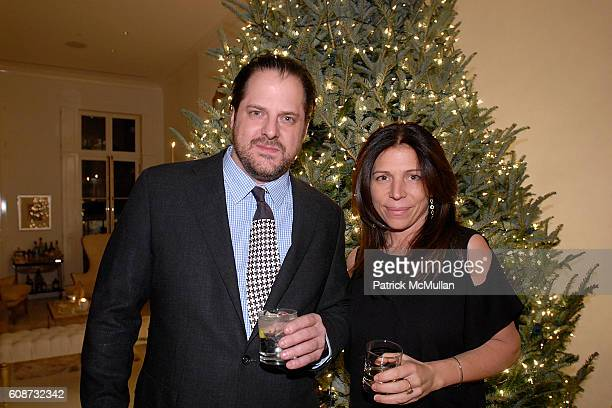 Tyler Hayes and Maureen Roffoni attend Janklow Party at Private Location on December 6 2007 in New York City