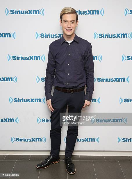 Tyler Henry visits at SiriusXM Studio on March 8 2016 in New York City