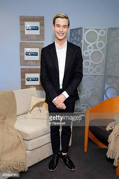 Tyler Henry visits Extra on November 3 2016 in New York City