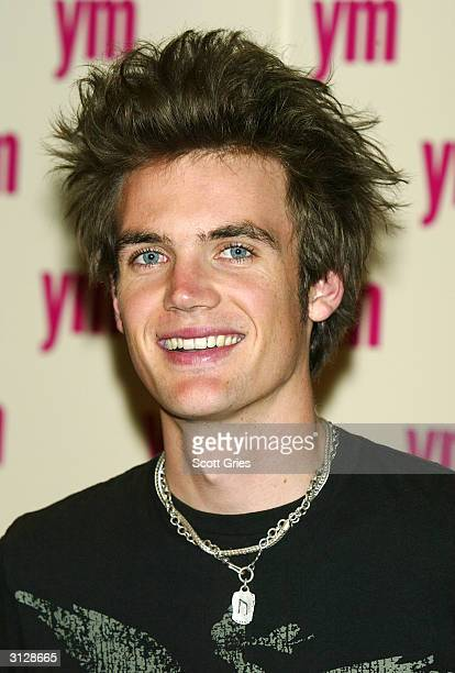 Tyler Hilton arrives at the 5th Annual YM MTV Issue party at Spirit March 24 2004 in New York City