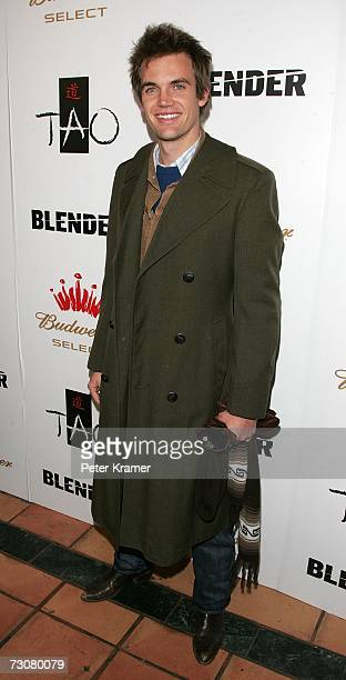 Tyler Hilton attends the Blender Sessions at TAO Hosted By Nelly during the 2007 Sundance Film Festival on January 22 2007 in Park City Utah