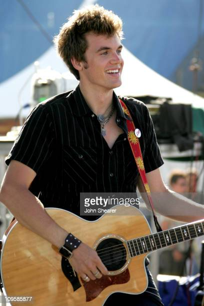 Tyler Hilton During Teen Vogue Fashion Live Concert In Huntington Beach California United States