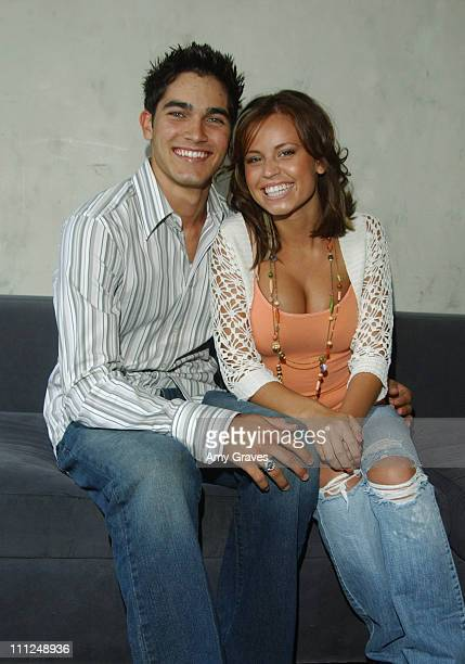Tyler Hoechlin and girlfriend Brooke Pearson during Country Music Television's 'Popularity Contest' Finale Watch Party at Cinespace in Hollywood...