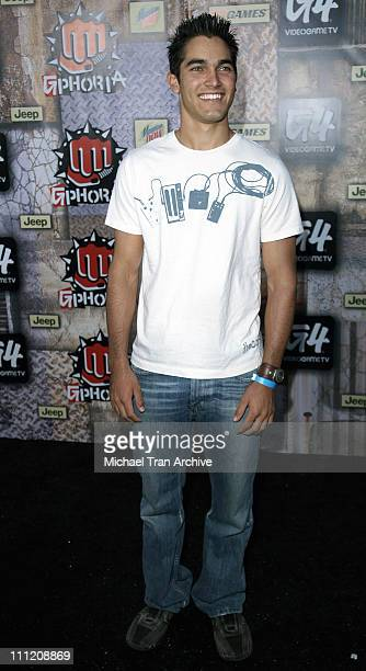 Tyler Hoechlin during G-Phoria 2005 -The Mother of All Videogame Award Shows - Arrivals at Los Angeles Center Studios in Los Angeles, California,...